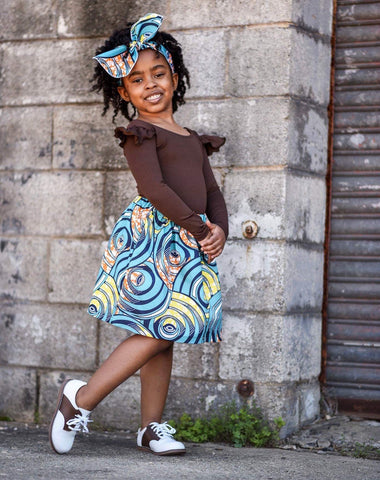 Aaleyah African Skirt Set