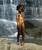 African Kente Leotard