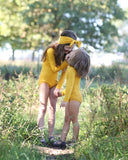 Mustard Yellow Leotard