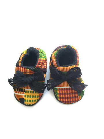 Kente Baby Shoes