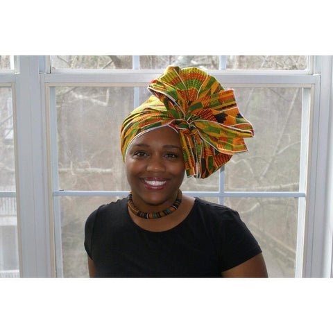 Women's Kente Headwrap