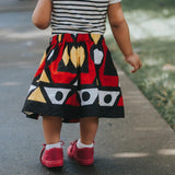 African Angolan Skirt and Head Wrap