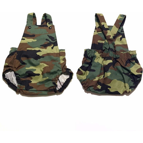 Camouflage Infant Romper