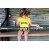 Girls African Kente Shorts