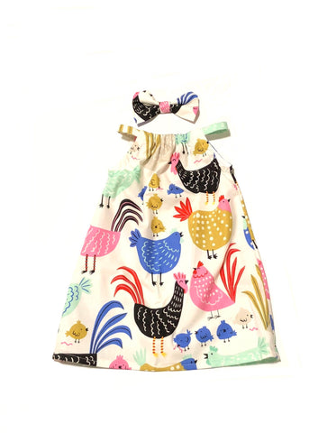 Chicken Pillowcase Dress