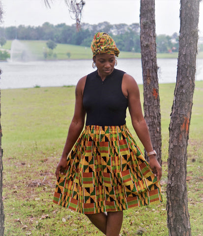 Ladies Kente Skirt