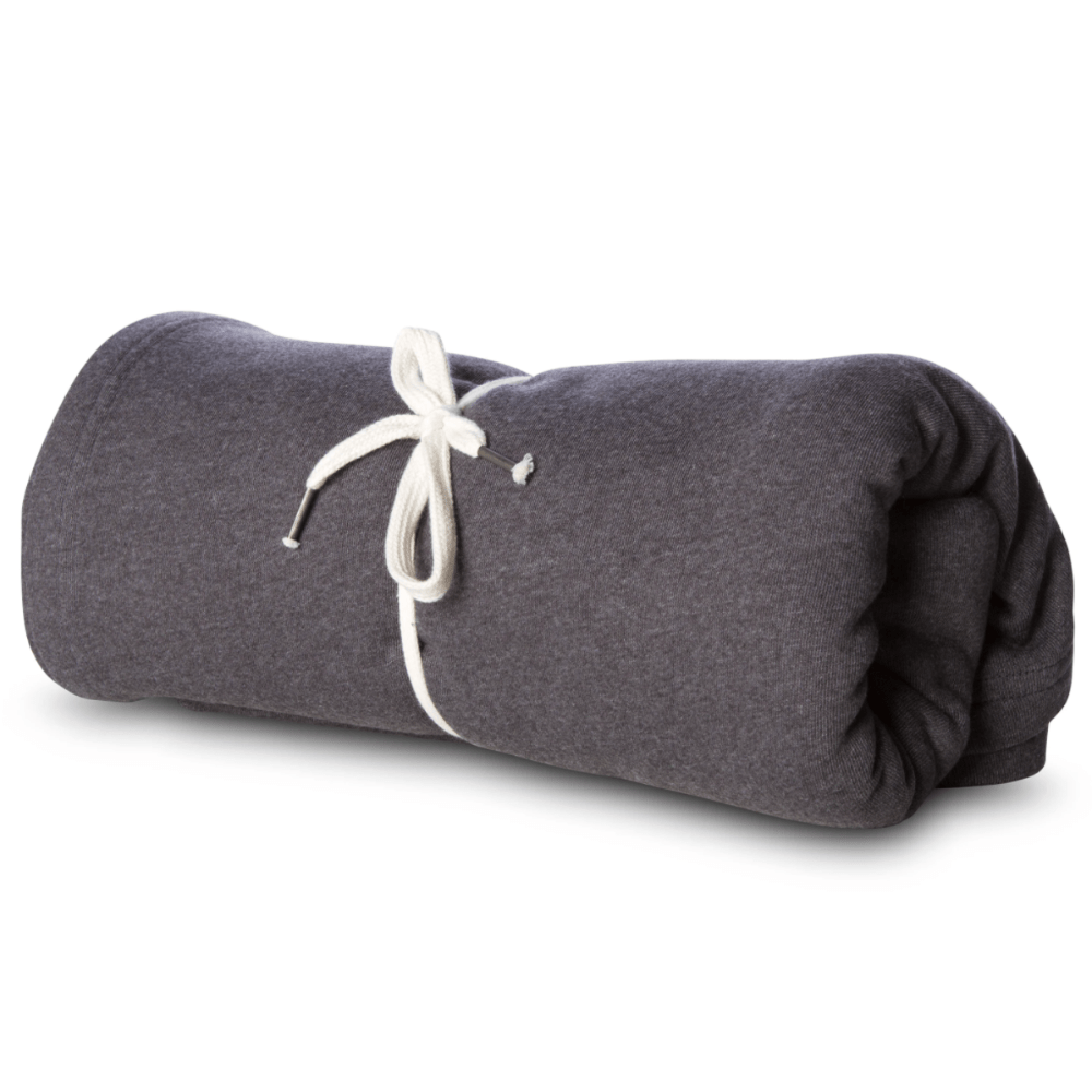 Accessory Pouch Charcoal Heather Cozy Blanket