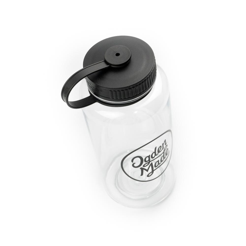 Accessory Pouch Black Script Water Bottle