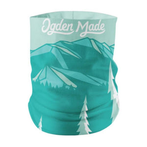 Accessory Pouch Teal Mtns Cold Water Buff