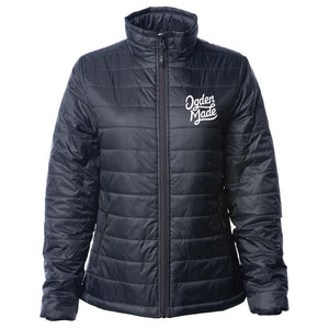 Apparel Black / X-Small Ladies Puffy Jacket