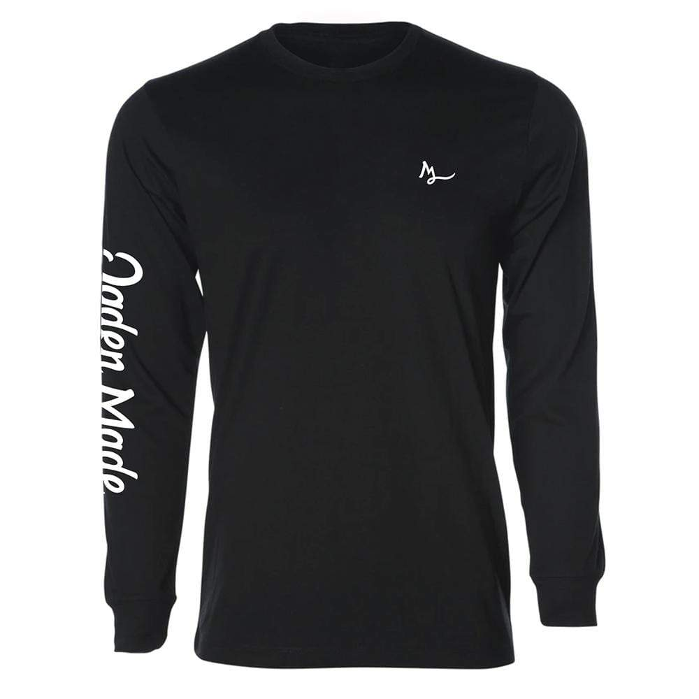 Apparel Black / X-Small Logo Long Sleeve