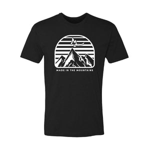 Apparel Black / X-Small Mountain Made Tee