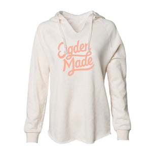 Apparel Bone / X-Small Ladies Script Hoodie