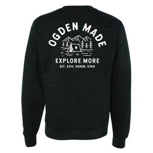 Explore More Crew Sweatshirt - Ogden Made