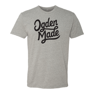 Apparel Heather Grey / Small Black Classic Script Tee