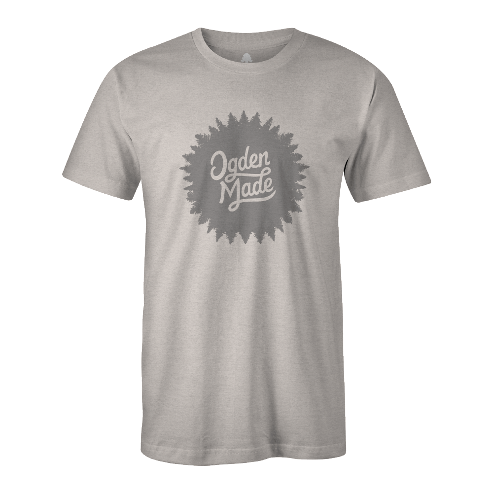 Apparel Heather Grey / X-Small Alpine Burst Tee