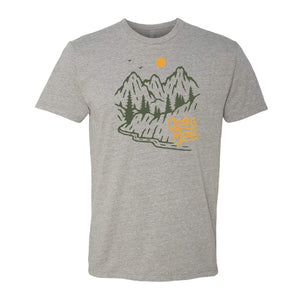 Apparel Heather Grey / X-Small Backroads Tee