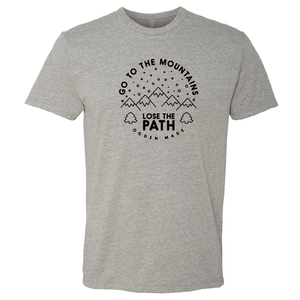 Apparel Heather Grey / X-Small Lose The Path Tee