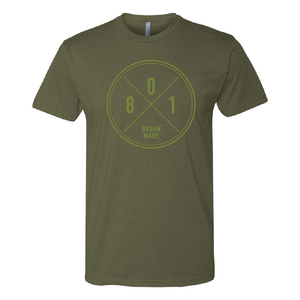 Apparel Military Green / X-Small 801 Tee