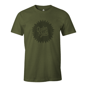 Apparel Military Green / X-Small Alpine Burst Tee