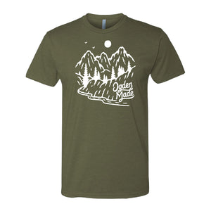 Apparel Military Green / X-Small Backroads Tee