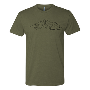 Apparel Military Green / X-Small Ben Lomond Tee