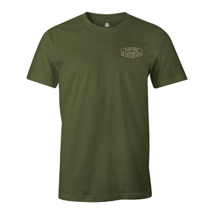 Apparel Military Green / X-Small Camp Tee