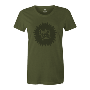 Apparel Military Green / X-Small Ladies Alpine Burst Tee