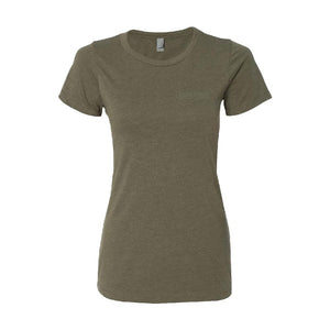Apparel Military Green / X-Small Ladies Logo Tee