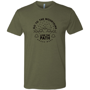 Apparel Military Green / X-Small Lose The Path Tee