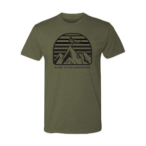 Apparel Military Green / X-Small Mountain Made Tee