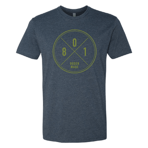 Apparel Navy / X-Small 801 Tee