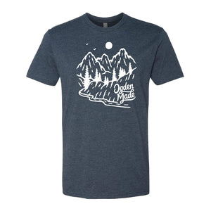 Apparel Navy / X-Small Backroads Tee