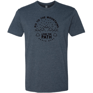 Apparel Navy / X-Small Lose The Path Tee