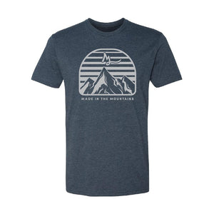 Apparel Navy / X-Small Mountain Made Tee