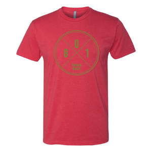 Apparel Red / X-Small 801 Tee