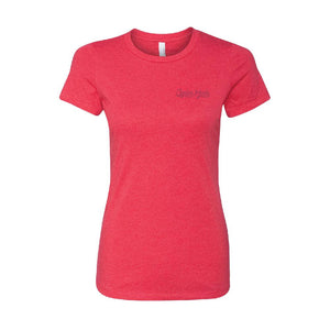 Apparel Red / X-Small Ladies Logo Tee
