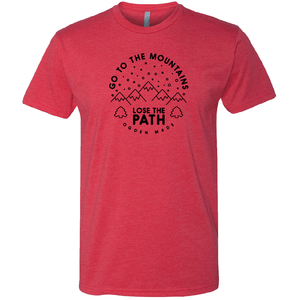 Apparel Red / X-Small Lose The Path Tee