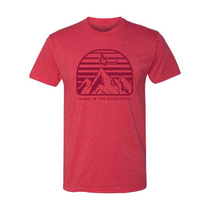 Apparel Red / X-Small Mountain Made Tee