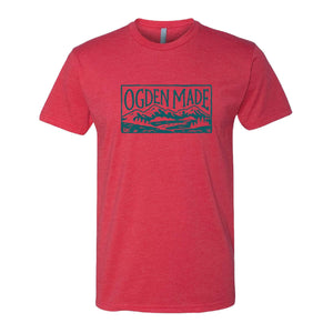 Apparel Red / X-Small Square Tee