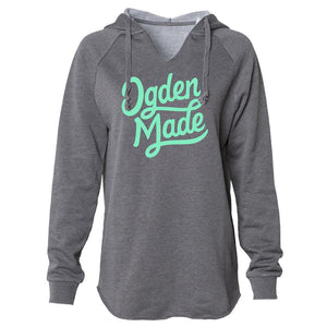 Apparel Shadow / X-Small Ladies Script Hoodie