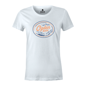 Apparel White / X-Small Ladies Hometown Tee
