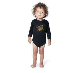 Black / NB Baby Onesie