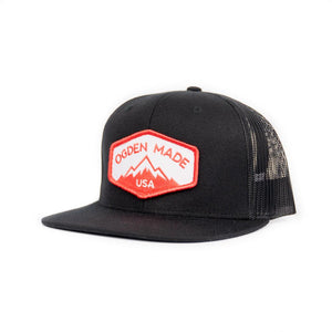 Headwear Black Mountain Hat