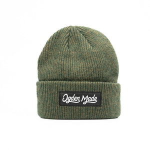 Headwear Forest Green Merino Beanie