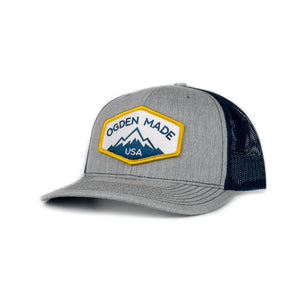 Headwear Heather Grey / Navy Ridge Hat