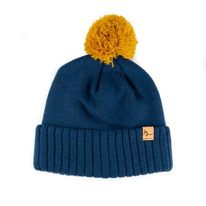 Headwear Light Navy / Wheat Backside Beanie