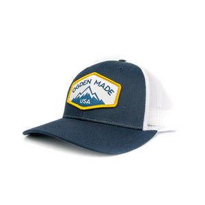 Headwear Navy / White Ridge Hat