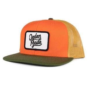 Headwear Tiger Lily / Pitt Gold / Army Olive Lewis Snapback - Flatbill
