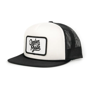 Headwear White / Black Kid's Lewis Hat